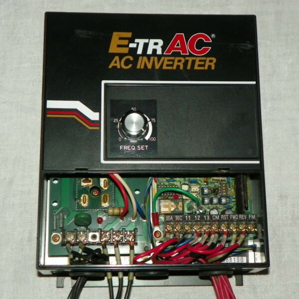 E-TRAC AC Inverter 100 Frequency Set