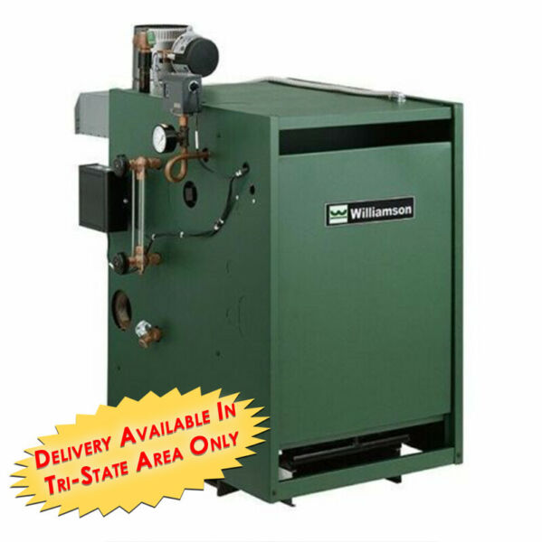 Williamson Thermoflu GSA 250 Gas Steam Atmospheric Boiler 250k BTU $3090.00