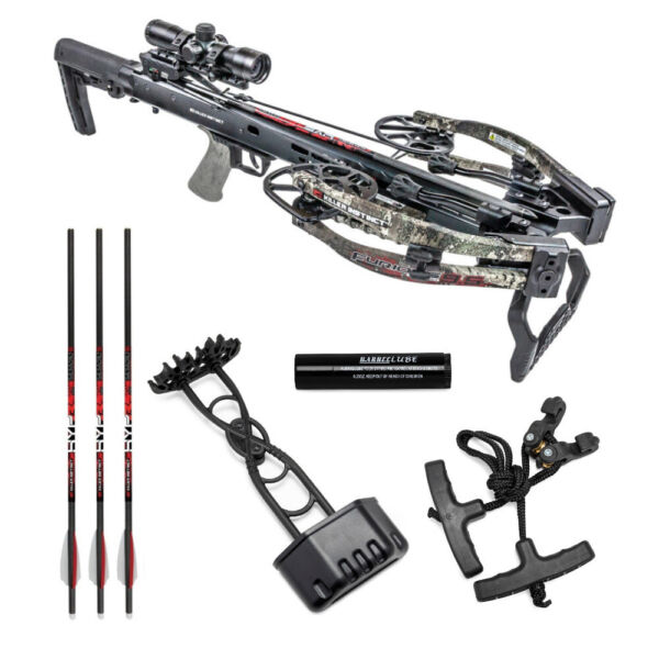 Killer Instinct Crossbows Furious Pro 9.5 400 FPS Crossbow Kit