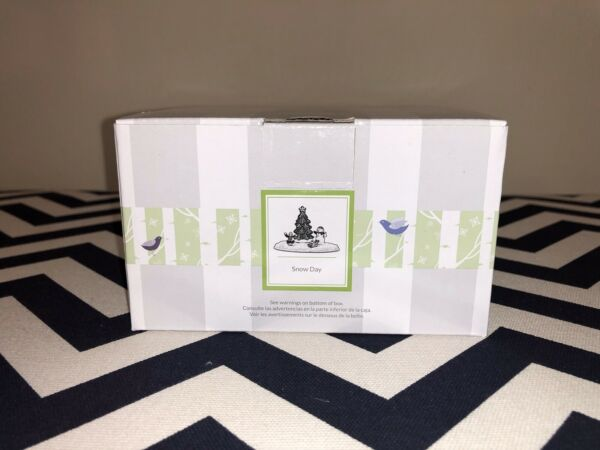 Scentsy Snow Day For Make A Scene Warmer-Sold Out-New In Box!!