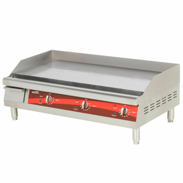 36quot; Electric Stainless Steel Countertop Commercial Restaurant Flat Top Griddle