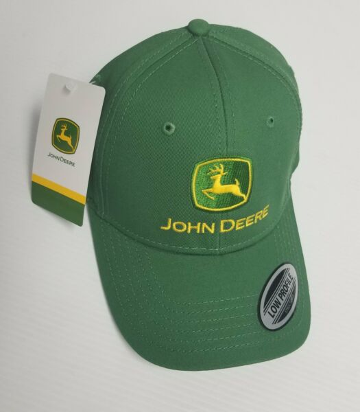 LP69072 John Deere Licensed Green Cap Hat