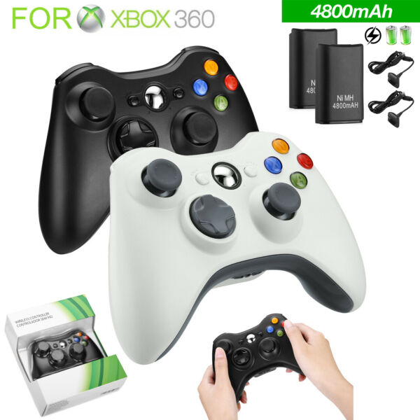 Wired  Wireless Game Controller Gamepad for Microsoft XBOX 360