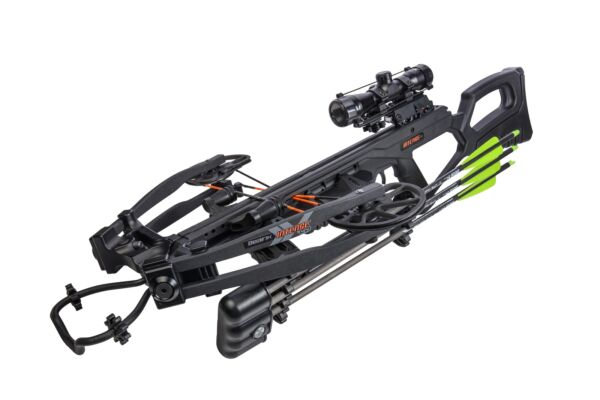 Bear Archery Bear X Intense CD Black Crossbow RTH Package 400 FPS 10quot; Wide