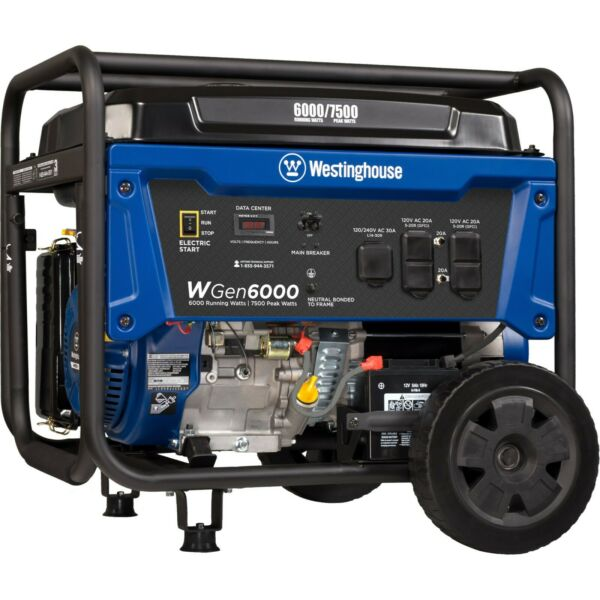 Refurbished Westinghouse WGen6000 Portable Generator