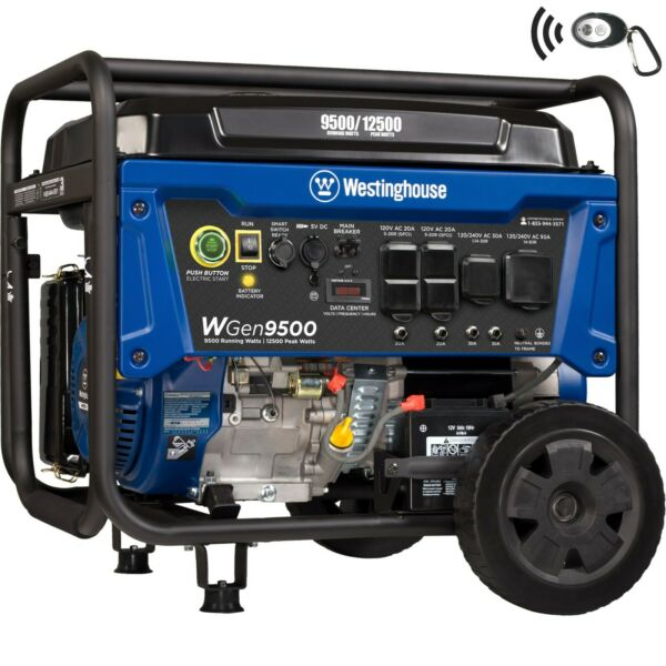 Open Box Westinghouse WGen9500 Portable Generator