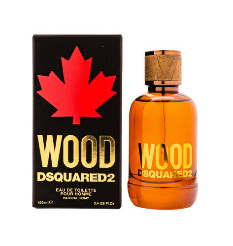 Wood by Dsquared2 EDT Cologne for Men 3.4 oz New In Box $39.18