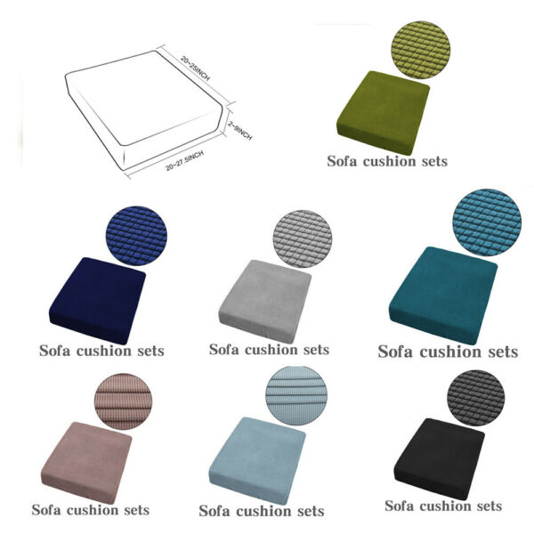 1 4 Seat Sofa Cover Couch Slipcover Stretchy Cushion Pet Dog Furniture Protector $11.99