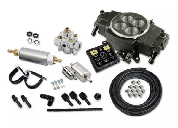 Holley Sniper Stealth 4150 Master Kit - Black Finish 550-871K 650hp NA And Force
