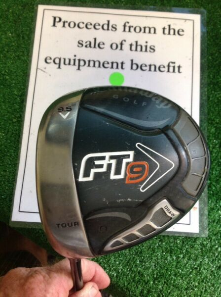 Callaway FT-9 Draw Lefthanded Driver 9.5* With Stiff Graphite Shaft
