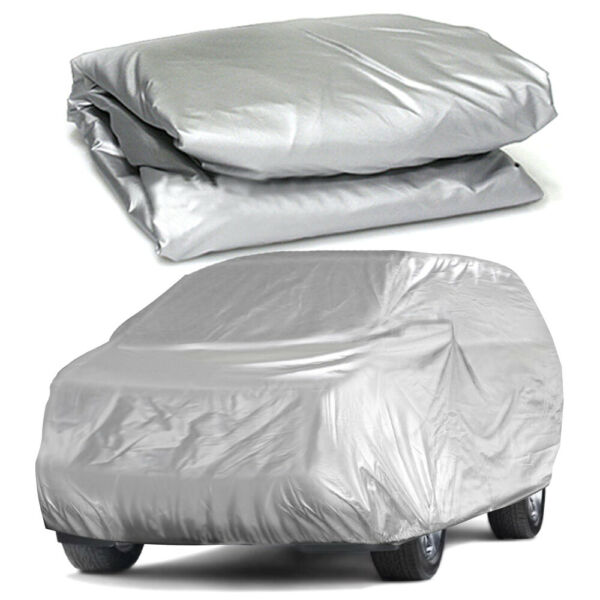 WaterProof Full Car Cover Fit For SUV Van Truck In Outdoor Dust UV Ray Snow Rain