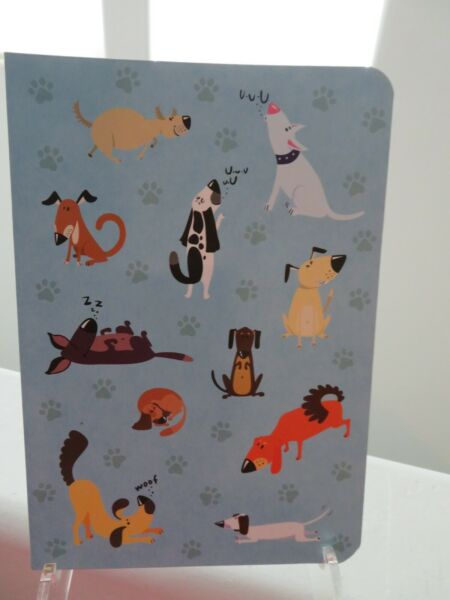 Funny Dogs Dachshund Gifted Stationary Lined Notebook Journal NEW $9.99