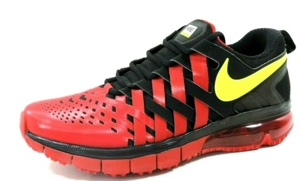 Nike Fingertrap Max 644673 017 Mens Shoes Black Multicolor Running Leather DS