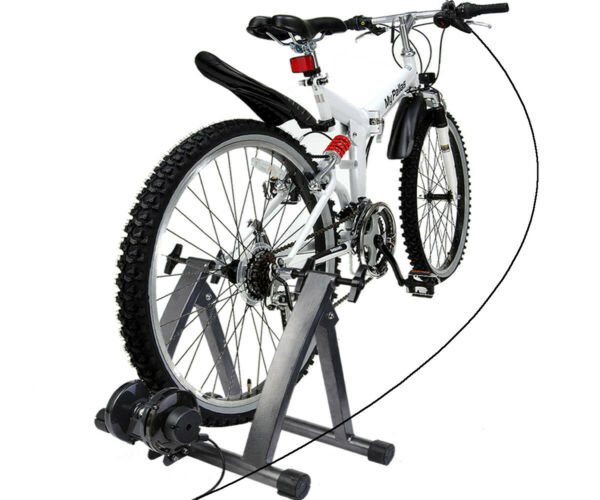 Bicycle Trainer 5 Level Magnetic Resistance Exercise Stand Indoor Home Workout $159.74