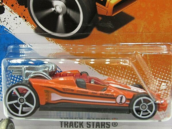 HOT WHEELS VHTF 2011 TRACK STARS SERIES HONDA RACER