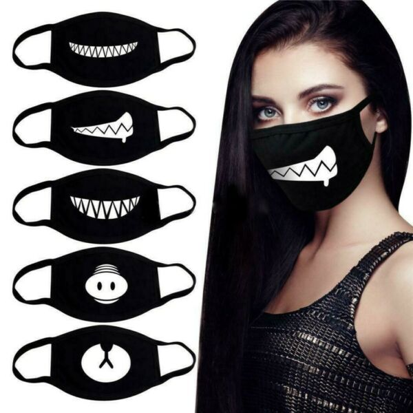Face Masks Cotton Washable Personality Masks -  BUY 3 or more GET 35% OFF