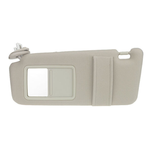 Ivory Driver Left Sun Visor for 2009-2016 Toyota Venza w Sunroof 74310-0T022-A1 $26.59