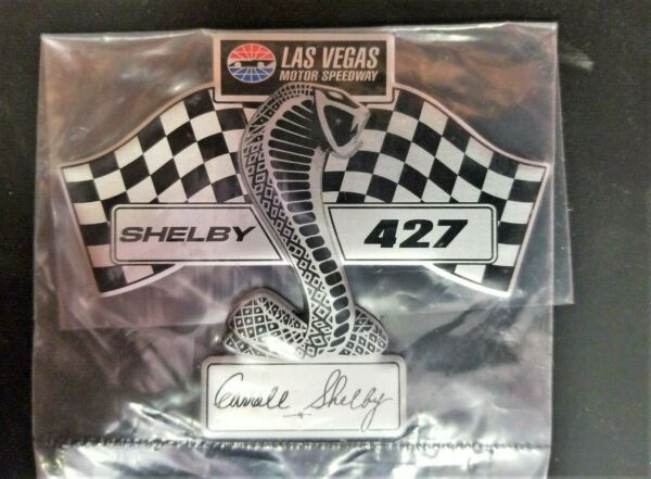 SHELBY SUPER SNAKE 427 NASCAR FENDER BADGE/EMBLEM