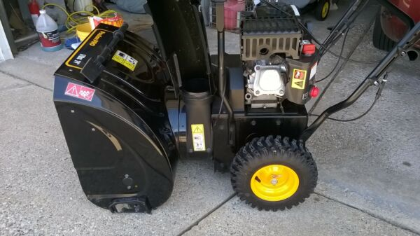 Poulan Pro PR240 24 in. Two-Stage Snow Blower   self propelled