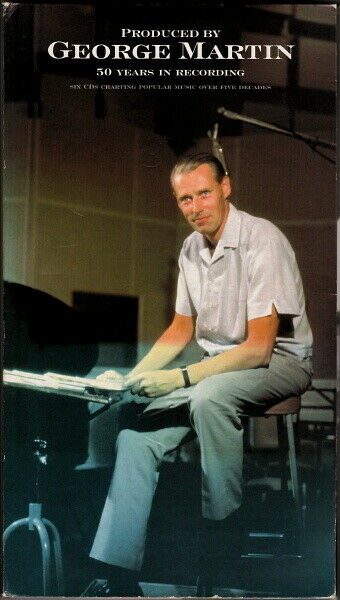 PRODUCED BY GEORGE MARTIN 50 YEARS IN RECORDING LIMITED EDITION PAUL MCCARTNEY