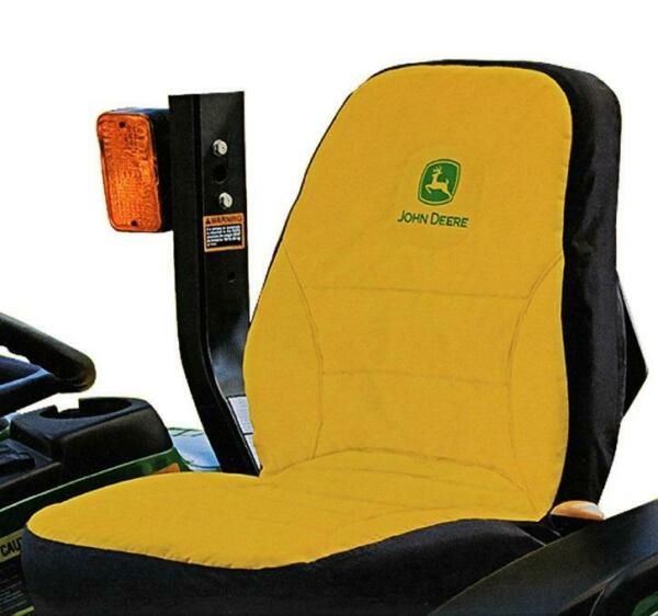 LP95233 John Deere Licensed Large Compact Utility Tractor Seat Cover