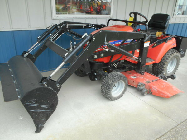 SIMPLICITY LEGACY XL DIESEL 3 POINT HITCH NEW FRONT END LOADER