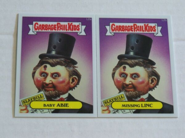 2013  Lost Garbage Pail Kids Chrome BABY ABIEMISSING LINC