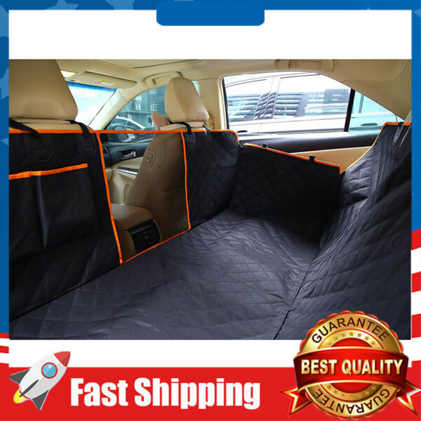 Upgraded Car Back Dog Seat Cover Waterproof Pet Durable Nonslip Scratchproof $35.09