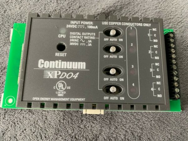 TAC Andover Controls XPD04 Expansion Module Continuum  $105.00