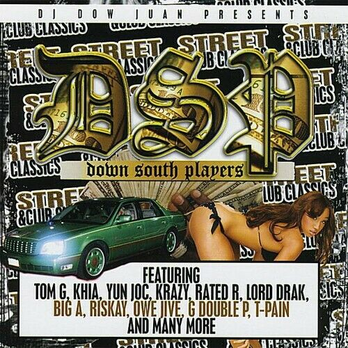 THE DOWN SOUTH PLAYERS STREET amp; CLUB CLASSICS NEW CD