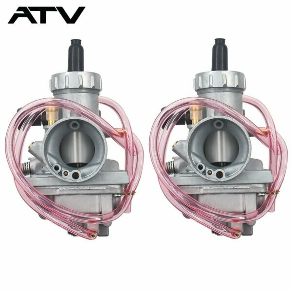 Two Carburetors For Yamaha Banshee YFZ350 YFZ 350 1987 2006 ATV Carbs 29mm Carby $41.89