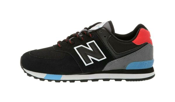 New Balance Men's Running Classic Shoes ML574JHO - Black/Red