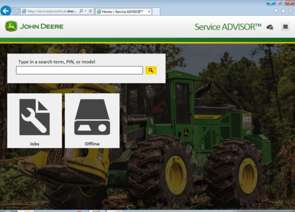 JOHN DEERE Service Advisor 5.2 CF amp; AG Tested to diagnose Unlimited PC's