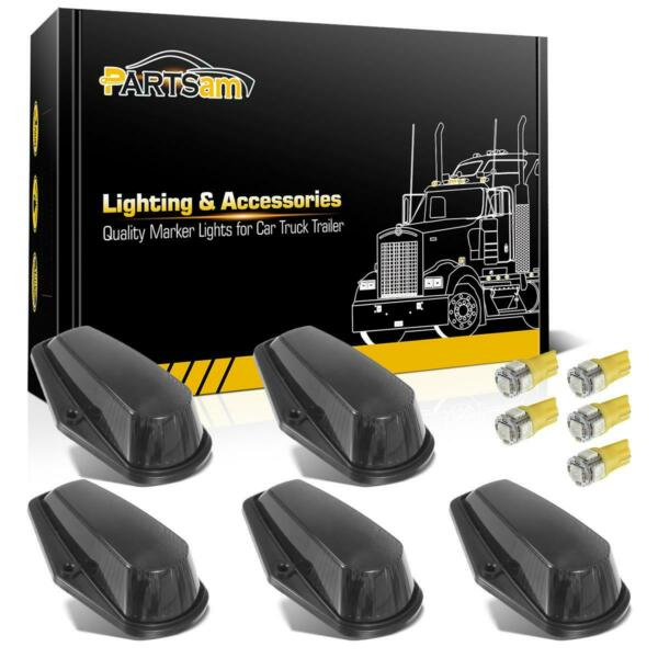 5Pcs Cab Roof Top Black Lights5050 Yellow 168 LED for Ford F 150 80 97