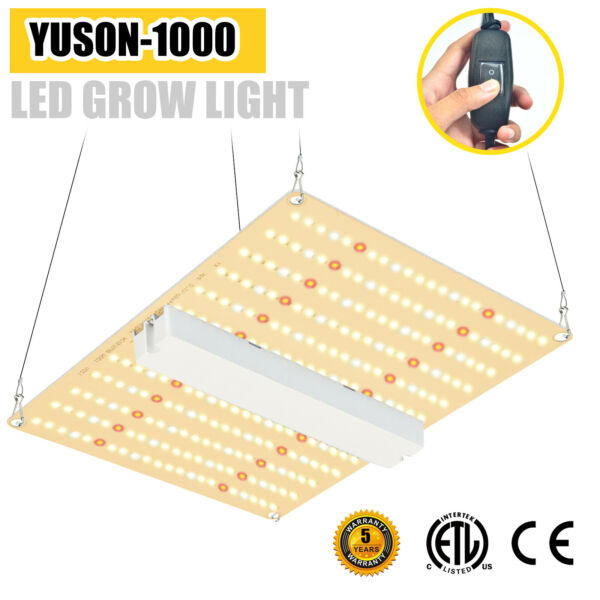 1000W LED Plant Grow Light for Indoor Plants Sunlike Full Spectrum US Fast Ship