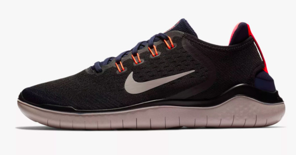 Nike Free RN 2018 Men's Running Shoes 942836 010 Black Moon Particle New In Box