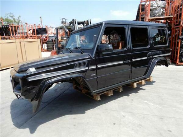 2018 Mercedes-Benz G WAGON  2018 MERCEDES BENZ G WAGON G500 G550 G65 G63 AMG G350 CHASSIS