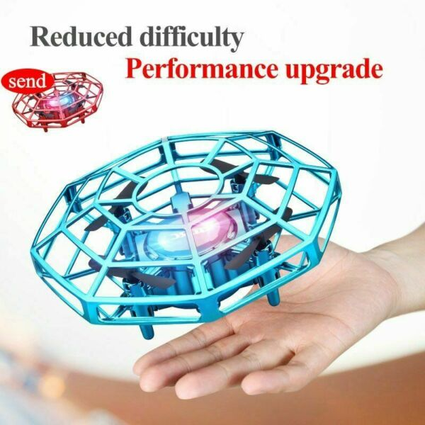 Mini Drone Quad Induction Levitation Smart UFO Hand Control Helicopter Toys Gift