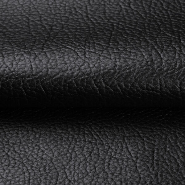 Black Marine Vinyl Fabric Faux Leather Upholstery Pleather Auto Boat By the Yard