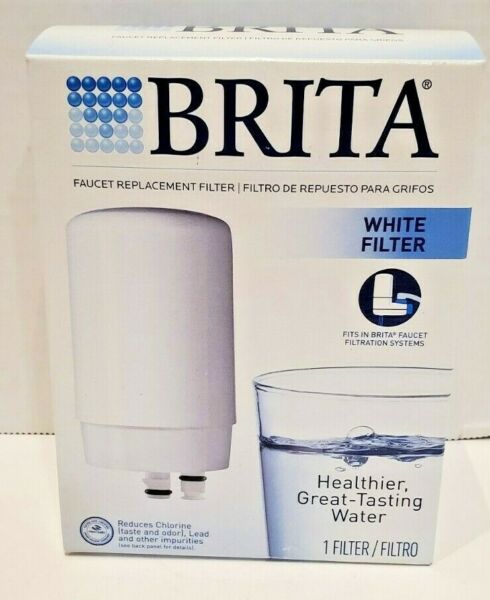 BRITA Faucet Water Filter System Replacement Filter FR 200 WHITE NEW