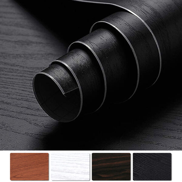 2M5M Self-Adhesive Contact Paper Wood Grain Home Furniture Stickers Waterproof $9.99