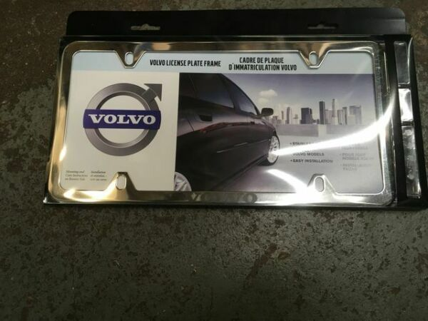 Genuine Volvo License Plate Frame 8640262