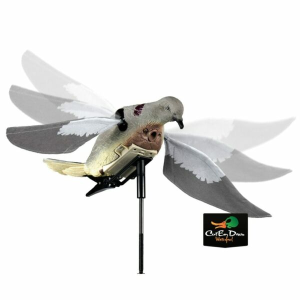 NEW EDGE LUCKY DUCK DOVE-N-AIR MOTORIZED FLAPPING MOTION RAPID FLYER DOVE DECOY $29.90