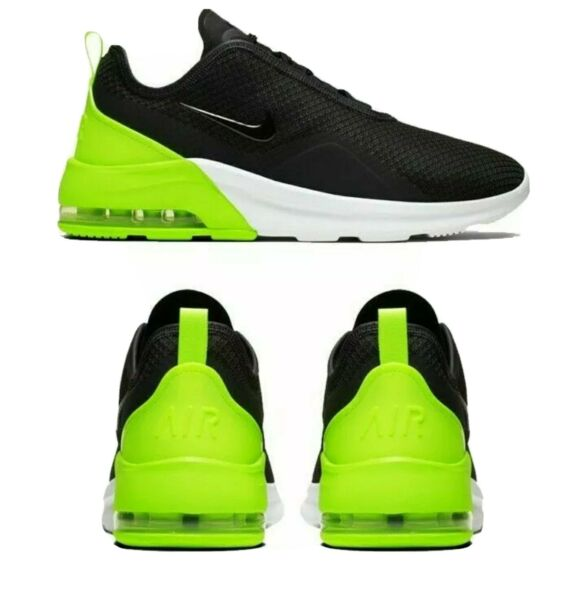 Nike Air Max Motion 2 Mens Shoes Sneakers Running Cross Training Gray/Volt NEW