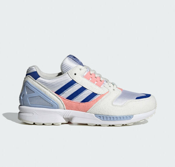 【DHL】ADIDAS ORIGINALS ZX 8000 White Blue Pink FX3940 ZX8000 from Japan