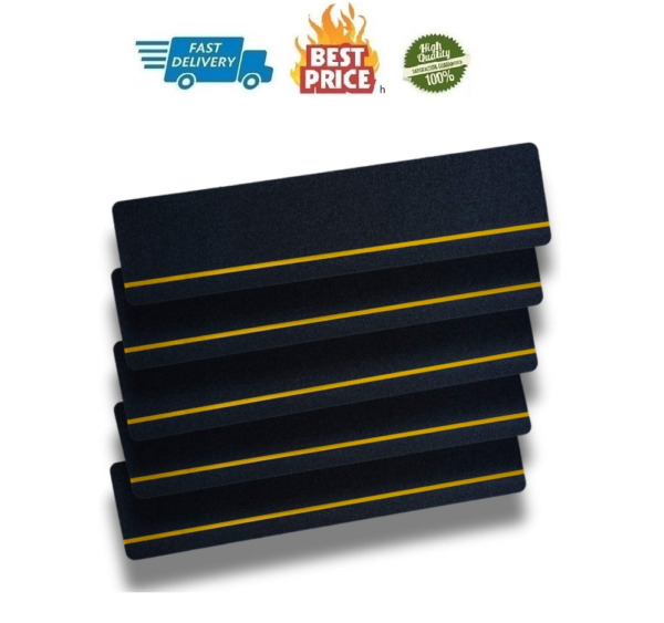 5 PCS Stairs Treads Non Slip Tape Indoor amp; Outdoor Safety Treads 6 Inch X 24 ...