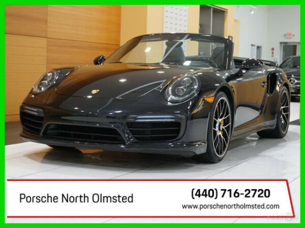2017 Porsche 911 Turbo S 2017 Turbo S Used Certified Turbo 3.8L H6 24V AWD Convertible Bose
