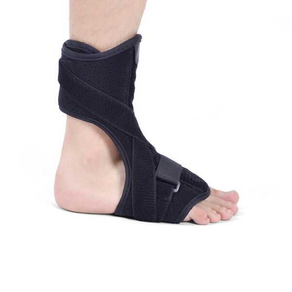 Adjustable Night Plantar Fasciitis Splint Brace Support Toe Pain Relief Black