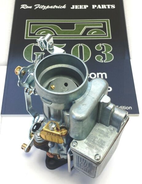 WWII willys MB CJ2a Ford GPW GPA ✅(A1223) Carter WO Carburetor Assembly L-134