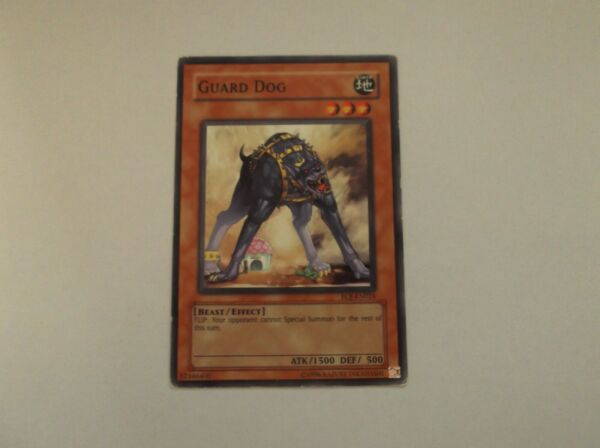 Yu Gi Oh quot;GUARD DOGquot; #Earth Trading Card GBP 0.99